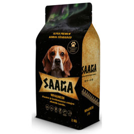 Saaga Mini & Medi koiran täysravinto 2kg