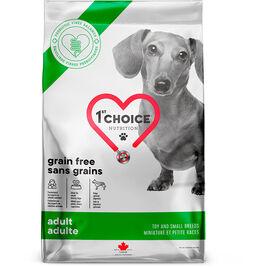 1st Choice Grain Free Adult Toy & Small pienen koiran täysravinto 5kg