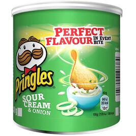 12kpl Pringles Sour Cream & Onion perunalastu 40g