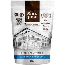 Hacienda San Jose 45% tumma maitosuklaanappi 250g
