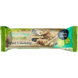20kpl Nutrilett Smart Meal Yoghurt & Blueberry ateriankorvikepatukka 56g