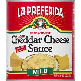 La Preferida Cheddar mild juustokastike 3kg
