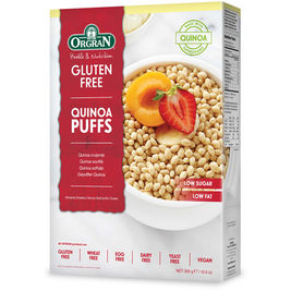 Orgran Quinoa Puffs kvinoamurot gluteeniton 300g