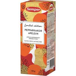 Semper Appelsiinipiparkakut gluteeniton 150g