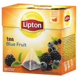 Lipton Blue Fruit pyramidi musta tee 20ps