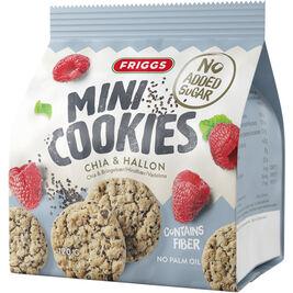 Friggs Mini Cookies Chia & Vadelma keksi 120g