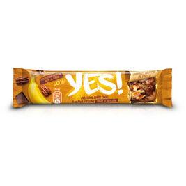 24kpl Yes! Banana, Pecan & Dark Chocolate pähkinäpatukka 35g