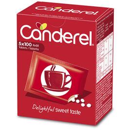 Canderel makeutuspuriste täyttöpakkaus 5x100 42,5g