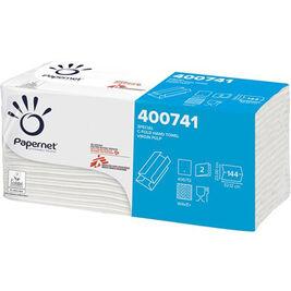 144kpl - Papernet 2-kertainen käsipyyhe C-taitto