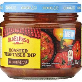 Old El Paso Roasted Vegetables Dip extra mild salsakastike 312g