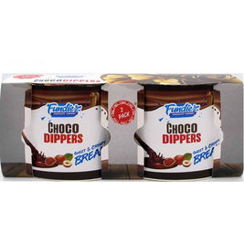 Fundiez Choco Dippers leipätikut kaakaodipillä 2x55g