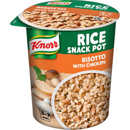 8kpl Knorr Rice Snack Pot Risotto with Chicken riisi-ateria 75g