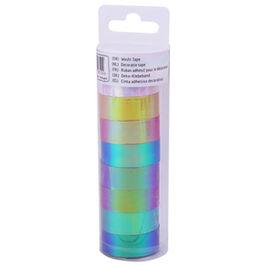 Washi Tape Iridescent koristeteippi 8rll