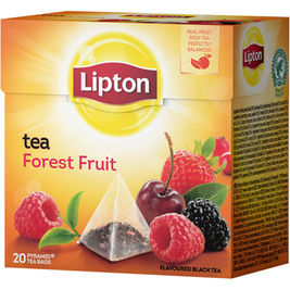 Lipton Forest Fruit pyramidi musta tee 20ps
