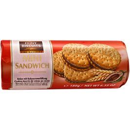 Feiny Biscuits Mini Sandwich kaakotäytekeksi 180g
