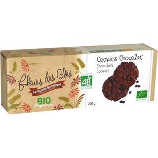 Fleurs des Blés Cookie & Chocolat suklaakeksi luomu 200g