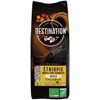 Destination Éthiopie suodatinkahvi luomu 250g
