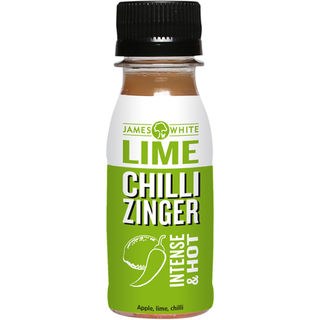 15kpl James White Lime Chili Zinger lime-chilishotti luomu 70ml