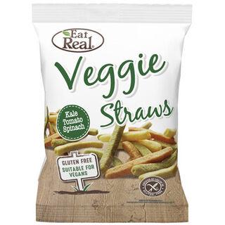 Eat Real Veggie Straws perunasnacks 45g