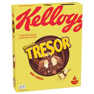 Kellog's Tresor Duo Choco muro 375g