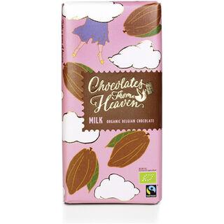 Chocolates From Heaven Milk maitosuklaalevy luomu 100g