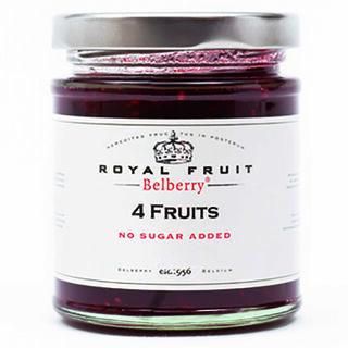 Belberry Royal Fruit 4 Fruits hedelmähillo sokeriton 215g
