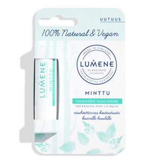 Lumene Viilentävä Minttu huulivoide 4,5g