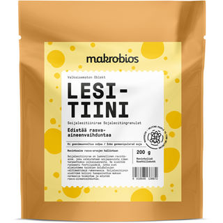 Makrobios Lesitiini soijalesitiinirae 200g
