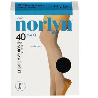 Koko 52-56 Norlyn Maxi 40den Grey sukkahousut