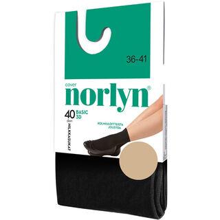 Koko 36-41 Norlyn Basic 3D 40den Camel nilkkasukat