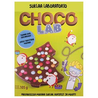 Prix Chocolabs suklaakuusi koristelusetti 105g