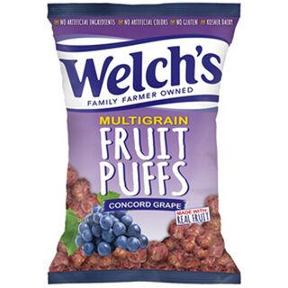 Welch's Fruits Puffs Concord Grape viinirypäleenmakuinen riisi- ja maissipuffi 170g