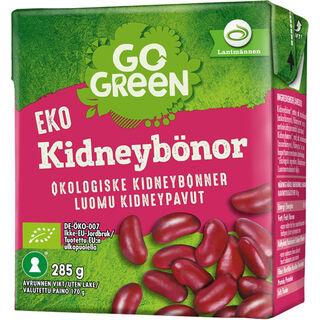 GoGreen kidneypavut luomu 285/170g