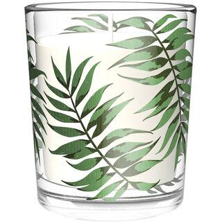 Duni Palm Leaf lasikynttilä