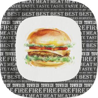 10kpl - Duni Best Burger kartonkilautanen 22cm
