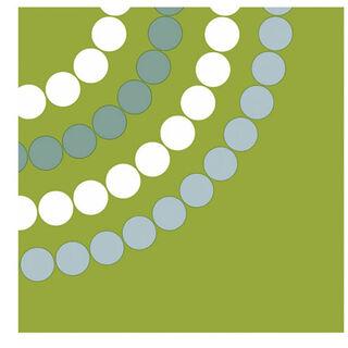 20kpl - Duni Aarikka Puisto vihreä lautasliina 24cm