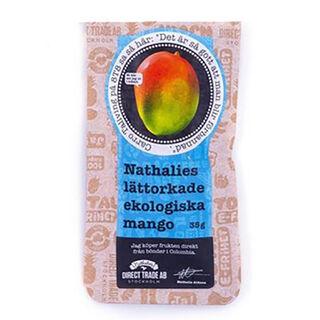 Nathalies kevytkuivattu mango luomu 35g