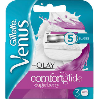 3kpl - Gillette Venus Olay Comfortglide Sugarberry terä